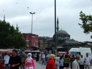 Foule Istanbul