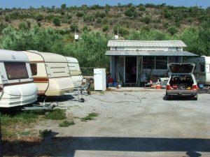 Camping cariste Volos
