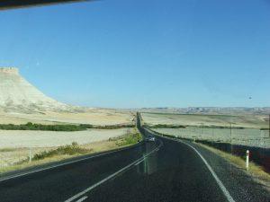route désertique